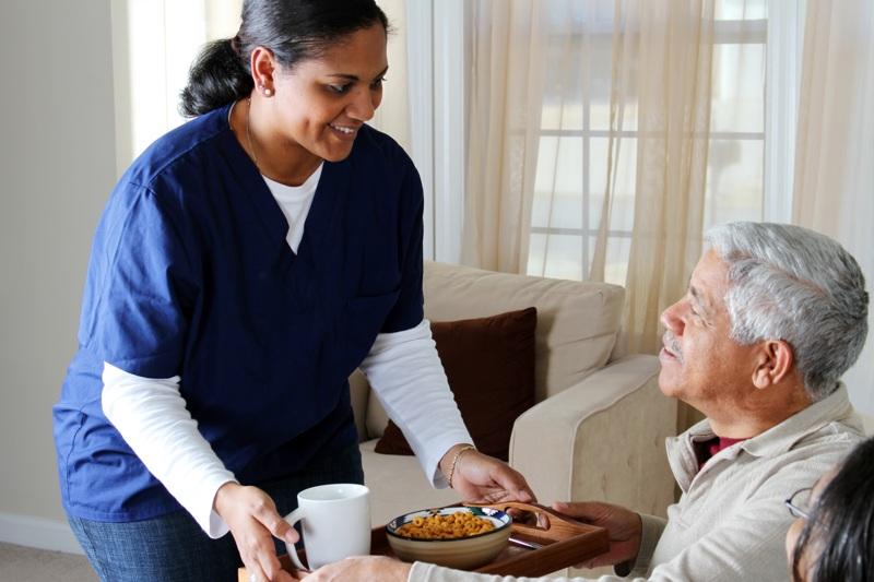 Serving elderly at home